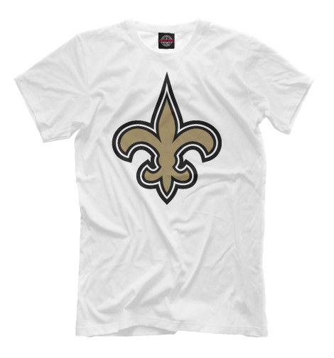 Футболка Print Bar New Orleans Saints худи print bar new orleans saints