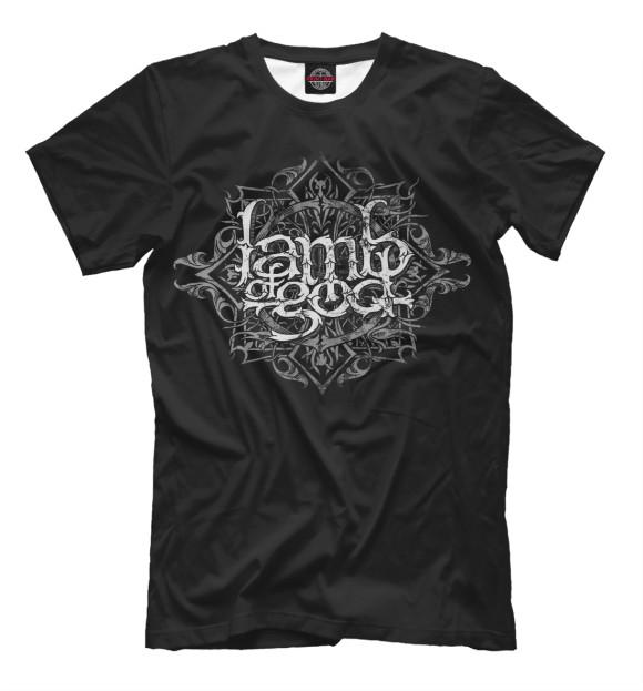 Купить Мужская футболка Lamb of God MZK-231844-fut-2