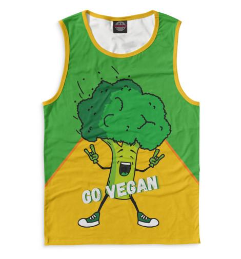 Майка Print Bar Go Vegan свитшот print bar go vegan