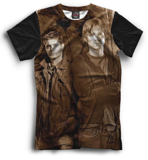 Купить Мужская футболка Сверхъестественное SVE-131524-fut-2
