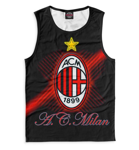 Купить Мужская майка AC Milan ACM-149845-may-2