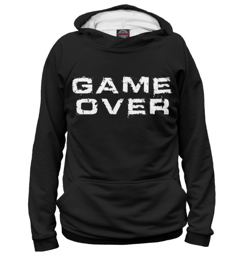Худи Print Bar Game Over game over