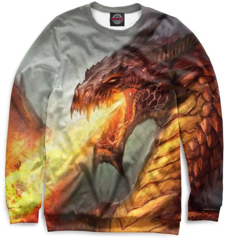 Женский свитшот Дракон