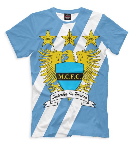 Купить Мужская футболка Символика Manchester City