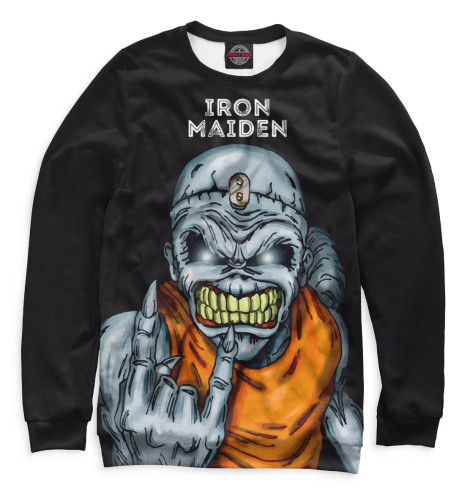 Женский свитшот Iron Maiden