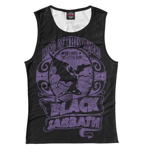 Купить Майка для девочки Black Sabbath MZK-807122-may-1