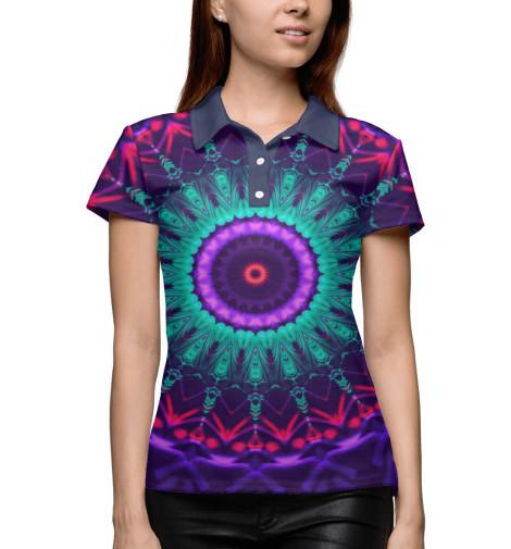 Купить Поло для девочки Mandala PSY-755390-pol-1