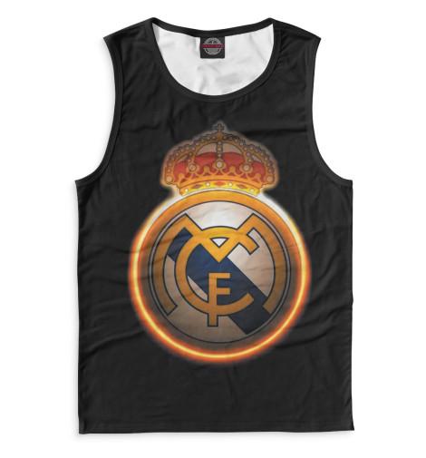 Мужская майка Реал Мадрид герб
