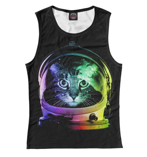 Майка Print Bar Space Cat лонгслив printio космо кот space cat page 2