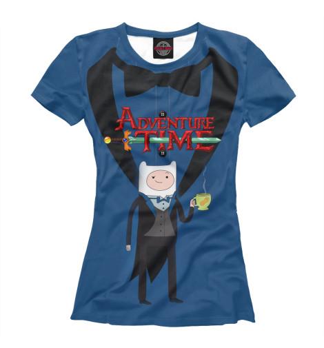 Футболка Print Bar Фин Adventure Time
