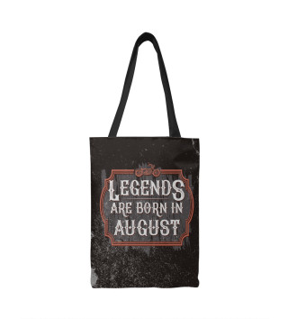 Сумка-шоппер Legends Are Born In August