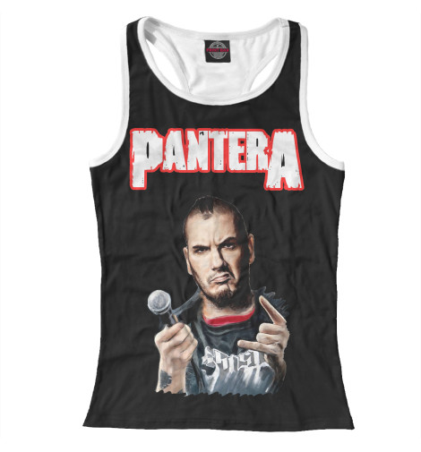 Майка борцовка Print Bar Pantera Phil Anselmo футболка print bar pantera mouth for war