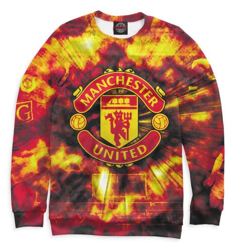 Женский свитшот Manchester United герб Print Bar MAN-596323-swi