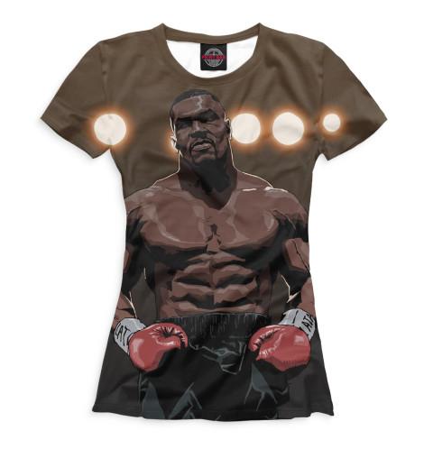 Женская футболка Тайсон артВсе футболки изготавливаются в Москве на нашем производстве и на 100% состоят из высококачественного материала microfibre. Благодаря этому, качество изображения на футболке получается наиболее ярким и насыщенным и выдерживает любое количество стирок.<br><br>Размер INT: 2XS,XS,S,M,L,XL,XXL,XXXL,4XL,5XL,104,110,116,122,128,134,140,146,152,158<br>Цвет: Белый<br>Пол: Женский<br>Материал: Хлопок