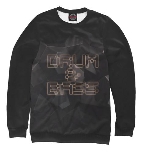 Свитшот Print Bar Drum-n-Bass басовый пэд millenium e drum bass drum pad