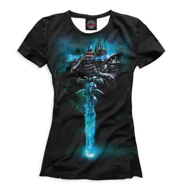 Купить Женская футболка World of Warcraft WOW-744054-fut-1