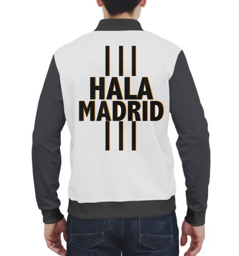 Бомбер Print Bar Hala Madrid бомбер printio мода 2017
