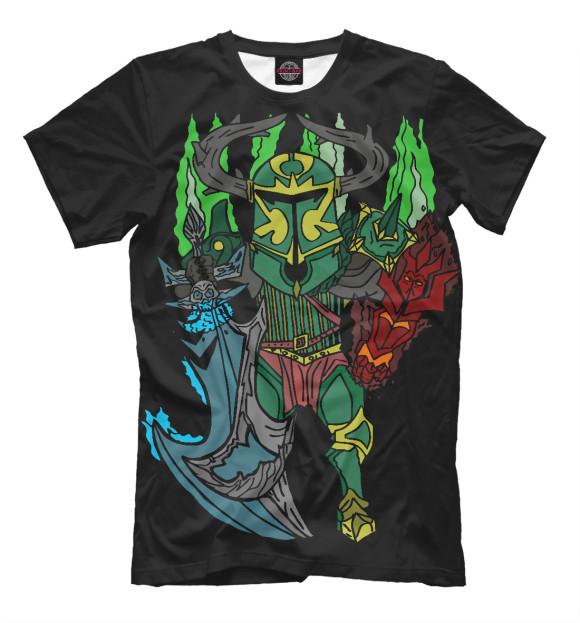 Купить Мужская футболка Фан арт Wraith King DO2-502003-fut-2