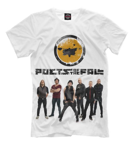 Купить Мужская футболка Poets of the Fall MZK-691834-fut-2