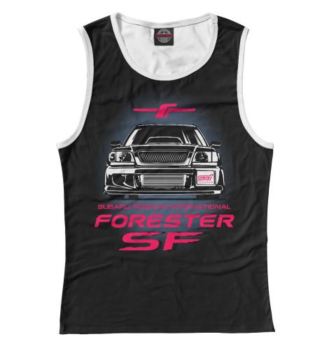Майка Print Bar forester sf2 майка борцовка print bar forester sf
