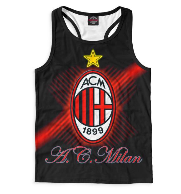 Купить Мужская майка-борцовка AC Milan ACM-149845-mayb-2
