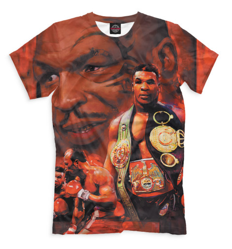 Мужская футболка Пояс чемпиона арт