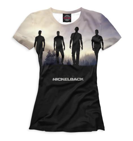 Женская футболка Nickelback