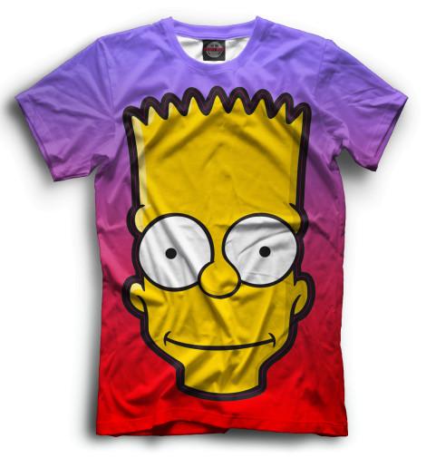 Мужская футболка Барт