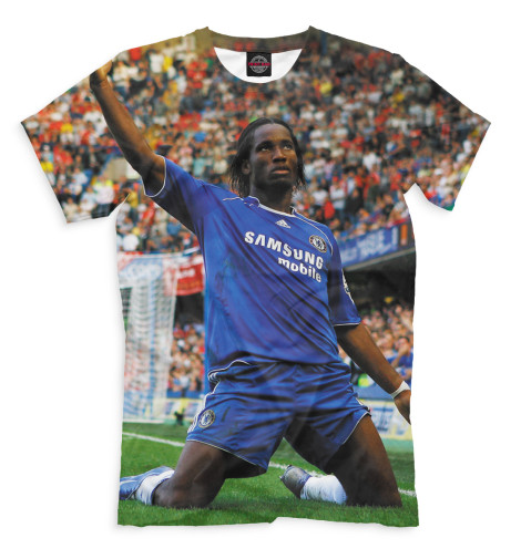 Мужская футболка Дидье Дрогба