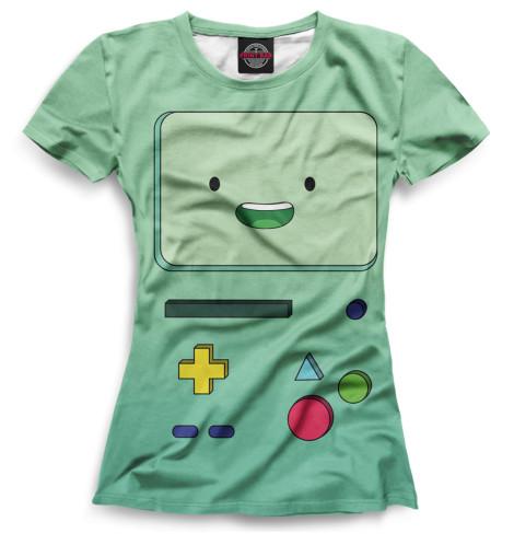 Женская футболка БиМО