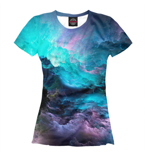 Женская футболка Облака