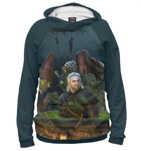 Худи Print Bar The Witcher 3: Wild Hunt