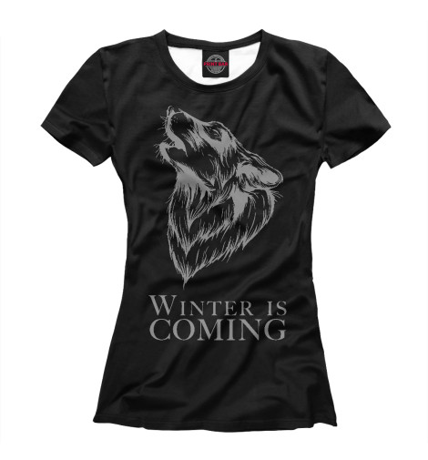 Футболка Print Bar Winter is Coming coming undone