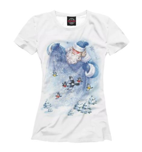 Купить Футболка для девочек Дед Мороз NOV-520560-fut-1