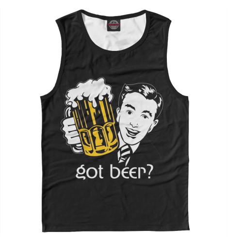 Майка Print Bar Got Beer? свитшот print bar got beer