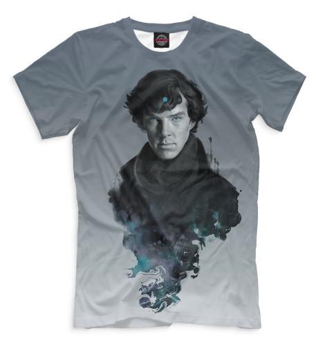 Купить Мужская футболка Шерлок SHE-512161-fut-2