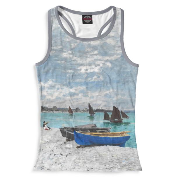 Купить Женская майка-борцовка Пляж в Сен-Адрессе GHI-920926-mayb-1