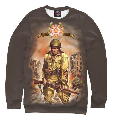 Свитшот Print Bar Русский солдат сергей булдыгин моонзунд 1941 русский солдат сражается упорно и храбро…