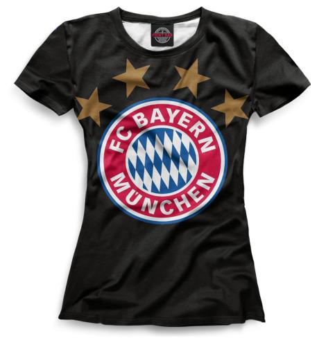 Женская футболка Герб Bayern Munchen