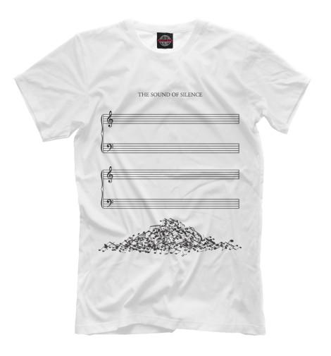 Купить Мужская футболка The Sound of Silence MZK-810270-fut-2