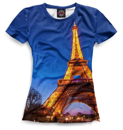 Женская футболка Путешествия