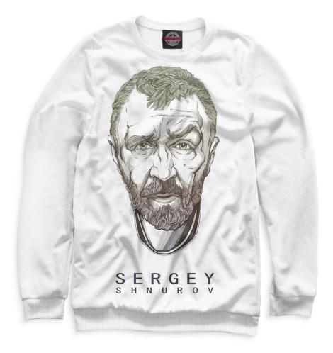 Свитшот Print Bar Сергей Шнуров сергей самаров возраст гнева