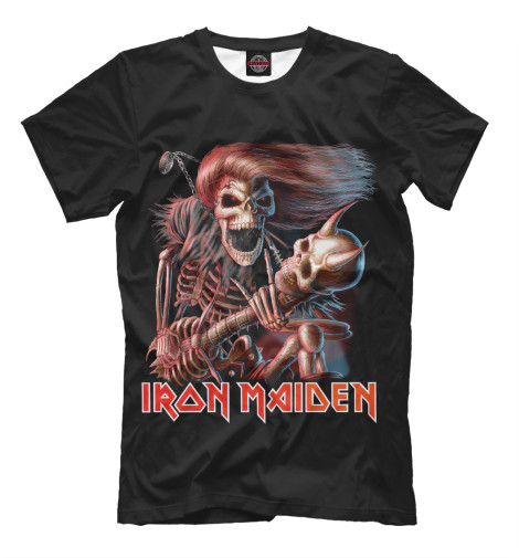 Футболка Print Bar Iron Maiden cd iron maiden a matter of life and death