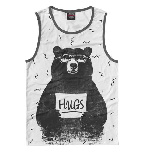 Майка Print Bar Bear Hugs комплекты в кроватку mummys hugs звездный 13 предметов