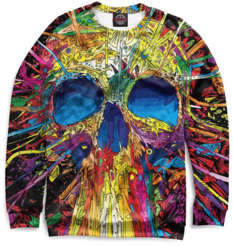 Свитшот Print Bar Skull свитшоты dappe свитшот