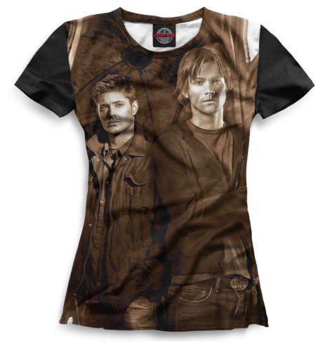 Женская футболка Сверхъестественное