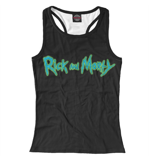 Купить Женская майка-борцовка Rick and Morty RNM-469821-mayb-1