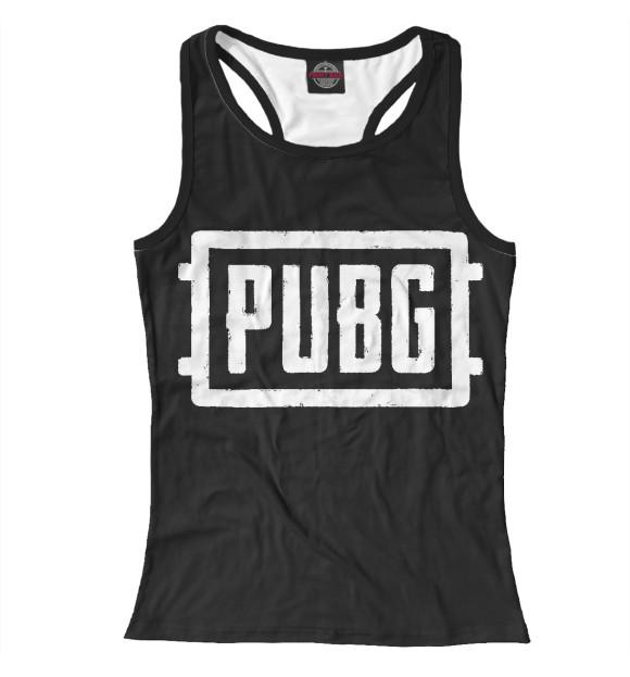 Купить Женская майка-борцовка PUBG PBG-759488-mayb-1