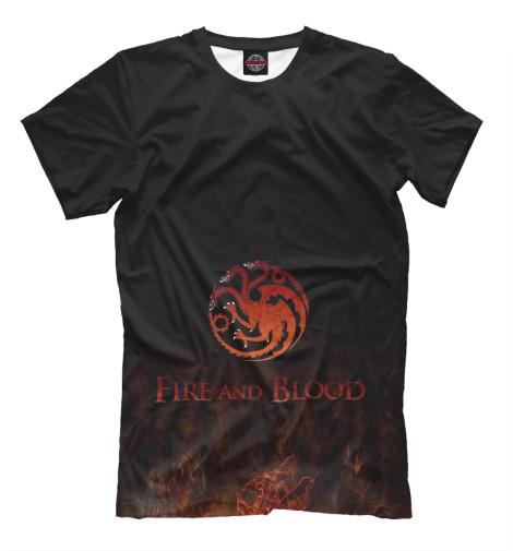 Футболка Print Bar Fire & Blood a fire in the blood