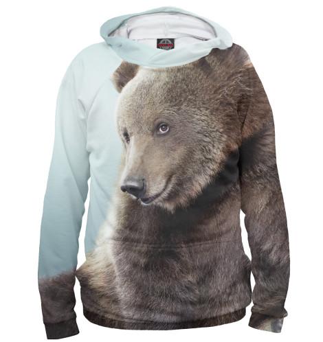 Женское худи Медведь